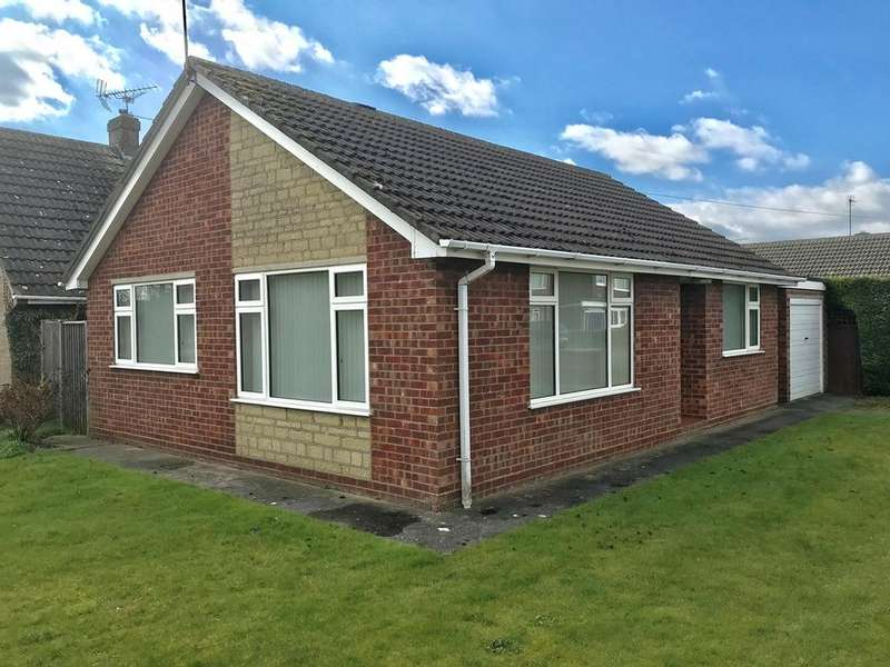 2 Bedrooms Detached Bungalow for sale in Laxton Gardens, Pinchbeck, Spalding, PE11