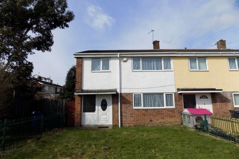 3 Bedrooms Semi Detached House for sale in Grasmere Road, Carcroft, Doncaster, DN6