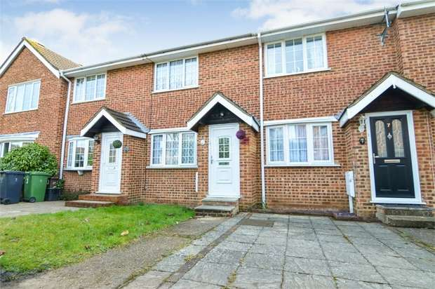 2 Bedrooms Terraced House for sale in Broomfield Avenue, BROXBOURNE, Hertfordshire