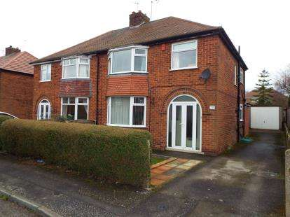 3 Bedrooms Semi Detached House for sale in Shelford Avenue, Kirkby In Ashfield, Nottingham, Nottinghamshire