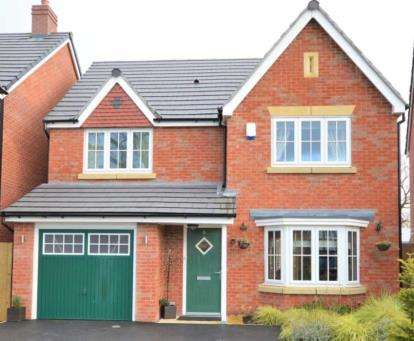 4 Bedrooms Detached House for sale in Redwood Gardens, Stockport, Greater Manchester