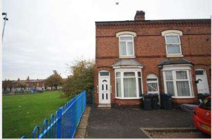 3 Bedrooms End Of Terrace House for sale in Redvers Road, Bordesley Green, Birmingham, West Midlands