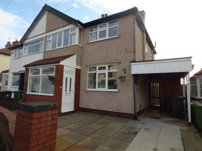 3 Bedrooms Semi Detached House for sale in Trevor Drive, Crosby, Liverpool, L23