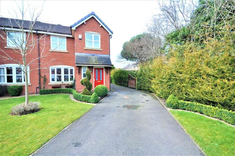 3 Bedrooms Semi Detached House for sale in Linden Close, Clifton, Preston, Lancashire, PR4 0YP