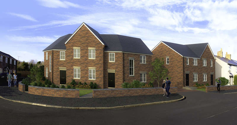 3 Bedrooms Semi Detached House for sale in New Homes, Plot 4, Queen Street