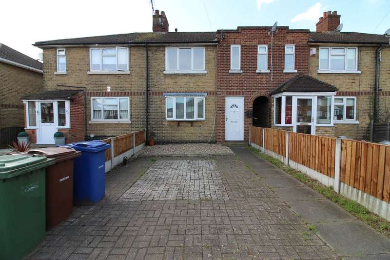 3 Bedrooms Terraced House for sale in Hall Avenue, Aveley