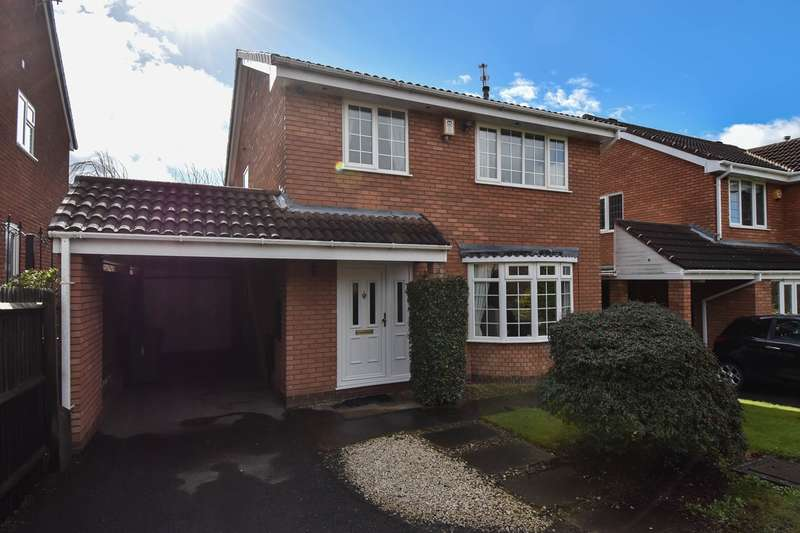 4 Bedrooms Detached House for sale in Cornfield Avenue, Stoke Heath, Bromsgrove, B60