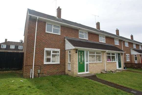 3 Bedrooms End Of Terrace House for rent in Abbotts Close, Tidworth