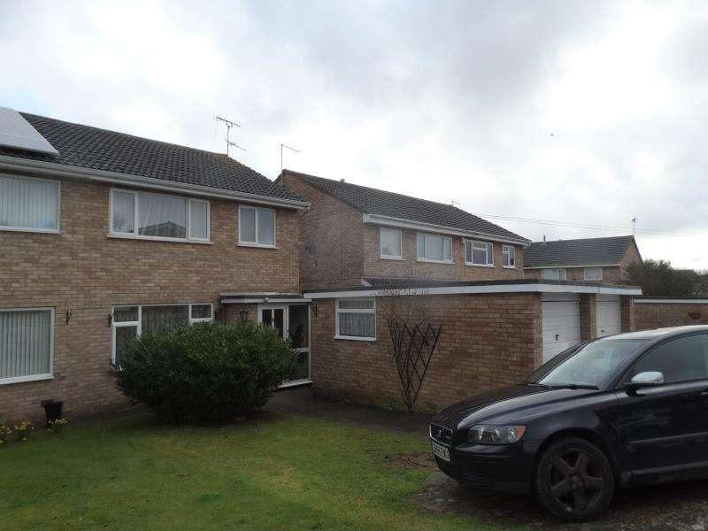 3 Bedrooms Semi Detached House for rent in 6 Walnut Drive, Heath Farm, Shrewsbury, SY1 3SQ