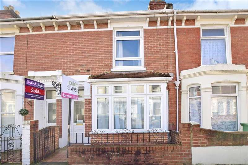 2 Bedrooms Terraced House for sale in Eastfield Road, Southsea, Hampshire