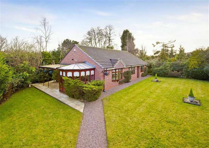 3 Bedrooms Detached Bungalow for sale in Brooklands, Bratch Lane, Wombourne, Wolverhampton, South Staffordshire, WV5