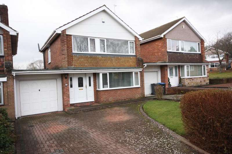 3 Bedrooms Link Detached House for sale in Carrowmore Road, Parkfield, Chester-le-Street, Co Durham, DH2 3DY