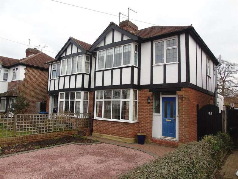 3 Bedrooms Semi Detached House for sale in Heathcote Avenue, Hatfield