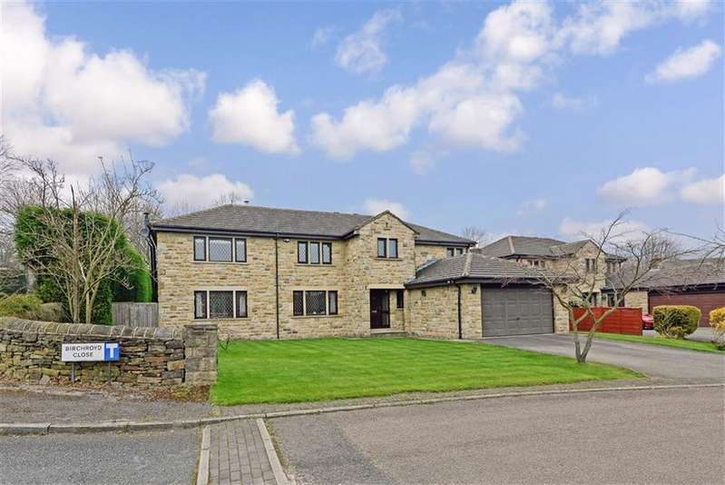 5 Bedrooms Detached House for sale in Birchroyd Close, Birkby, Huddersfield, HD2