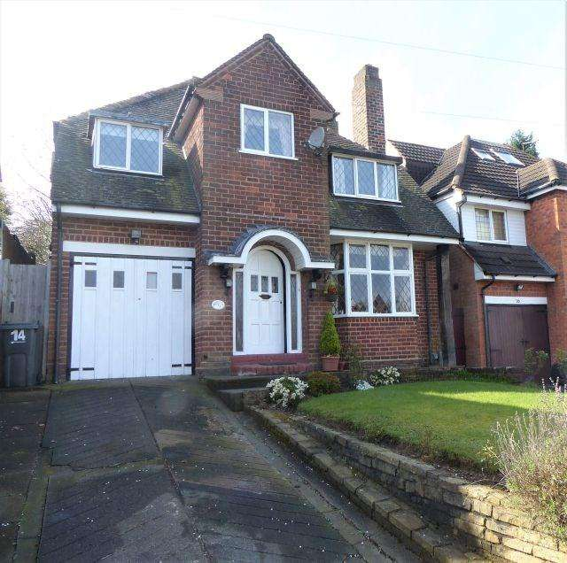 4 Bedrooms Detached House for sale in Leopold Avenue, Birmingham