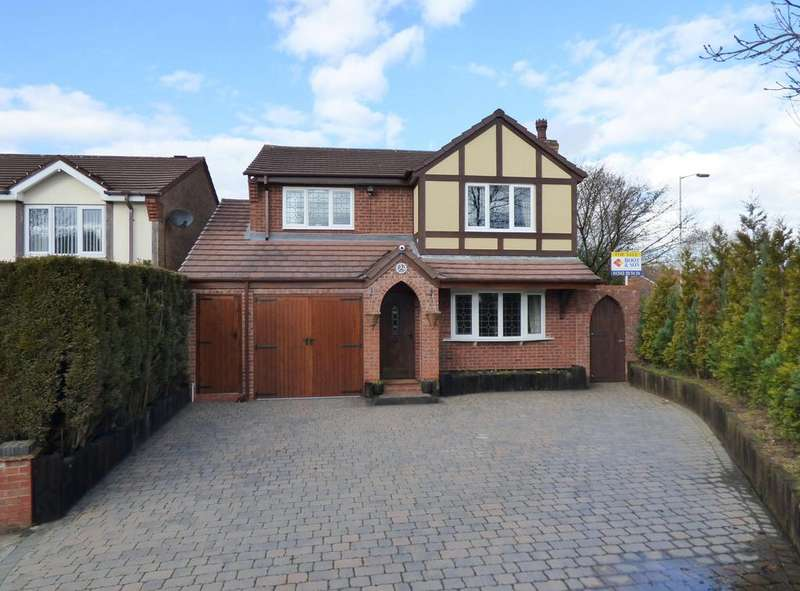 4 Bedrooms Detached House for sale in 33 Truro Place, Heath Hayes, WS12 3YJ