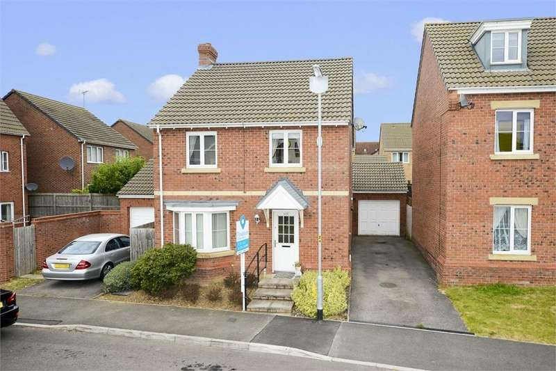 4 Bedrooms Detached House for sale in Dunnock Road, Oakley Vale, Corby, Northamptonshire