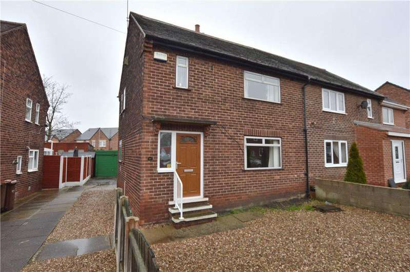 3 Bedrooms Semi Detached House for sale in Thorntree Avenue, Crofton, Wakefield, West Yorkshire