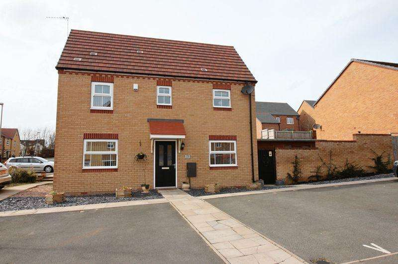3 Bedrooms End Of Terrace House for sale in Wellspring Gardens, Dudley, DY2 8RL