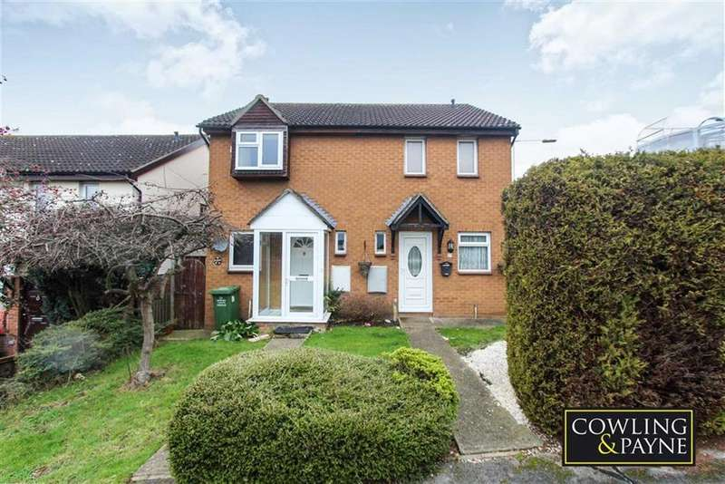 2 Bedrooms Semi Detached House for sale in Horkesley Way, Wickford, Essex