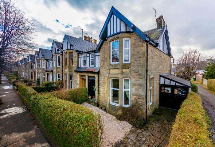 4 Bedrooms End Of Terrace House for sale in 27 Milner Road, Jordanhill, G13 1QL