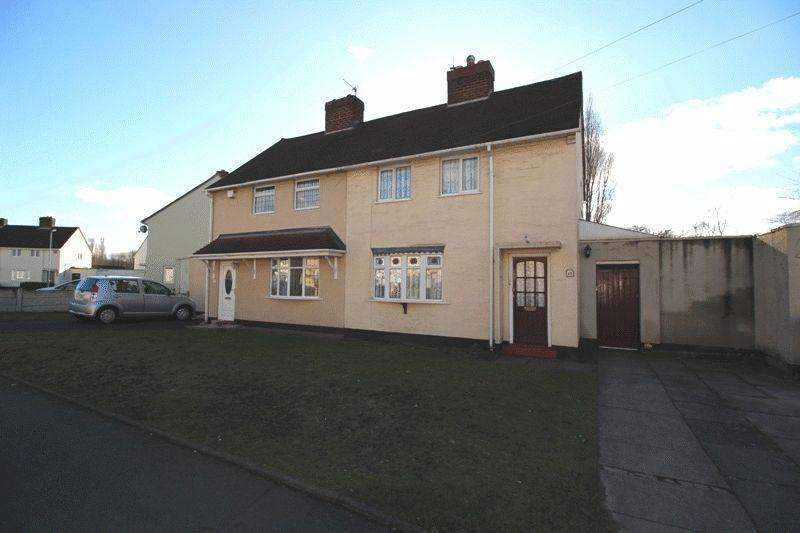 2 Bedrooms Semi Detached House for sale in Wolseley Road, Bilston