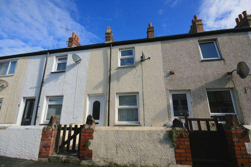 2 Bedrooms Terraced House for sale in 3 Park Terrace, Deganwy