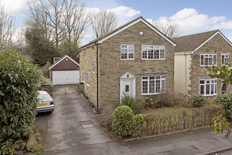 4 Bedrooms Detached House for sale in Hawksworth Drive, Guiseley