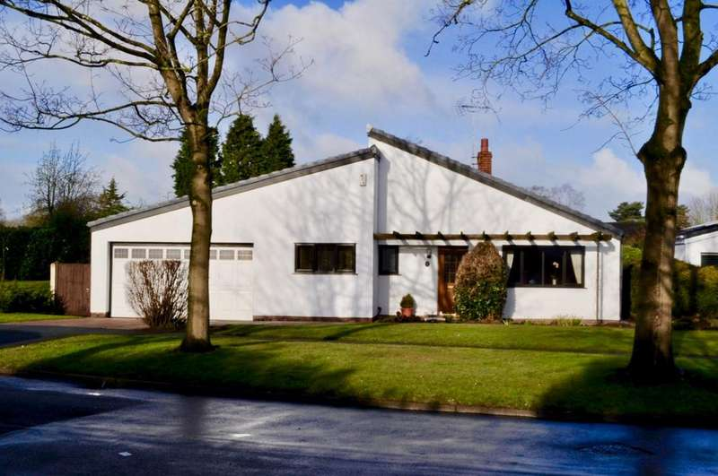3 Bedrooms Bungalow for sale in Cedarwood, Delamere Park, Northwich, CW8