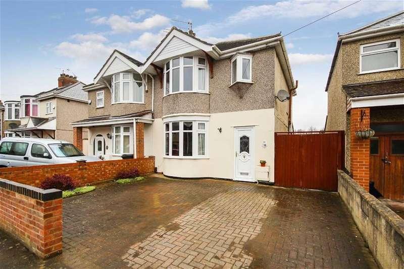 3 Bedrooms Semi Detached House for sale in Wheeler Avenue, Stratton, Swindon