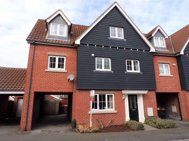 5 Bedrooms Semi Detached House for sale in Meadow Crescent, Ipswich