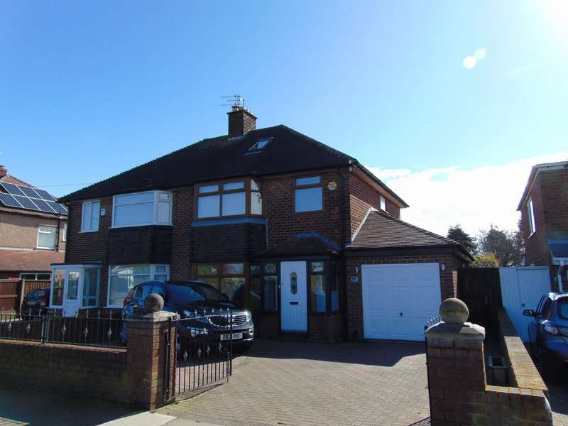 3 Bedrooms Semi Detached House for sale in Leasowe Road, Wallasey CH46