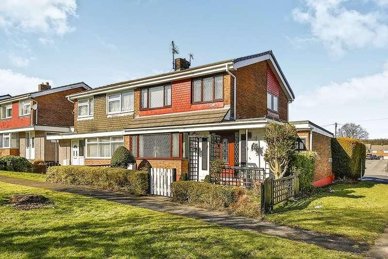 3 Bedrooms Semi Detached House for sale in Newtown Villas, Sacriston, Durham, DH7