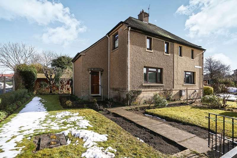 2 Bedrooms Semi Detached House for sale in Woodburn Street, Dalkeith, EH22
