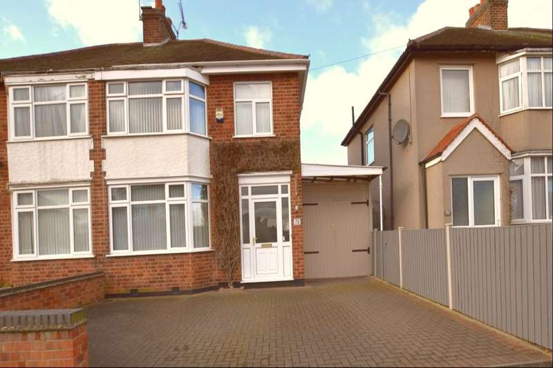 3 Bedrooms Semi Detached House for sale in Sycamore Road, Birstall, Leicester, LE4