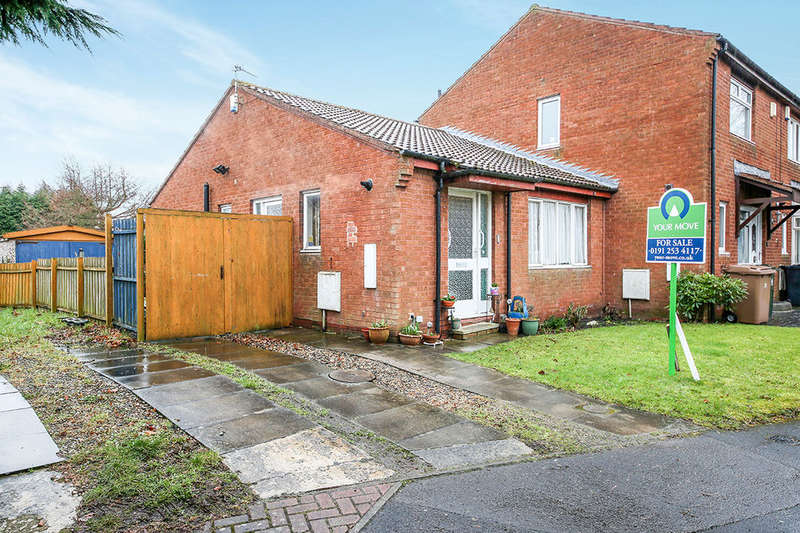 2 Bedrooms Bungalow for sale in Sandon Close, Backworth, Newcastle Upon Tyne, NE27