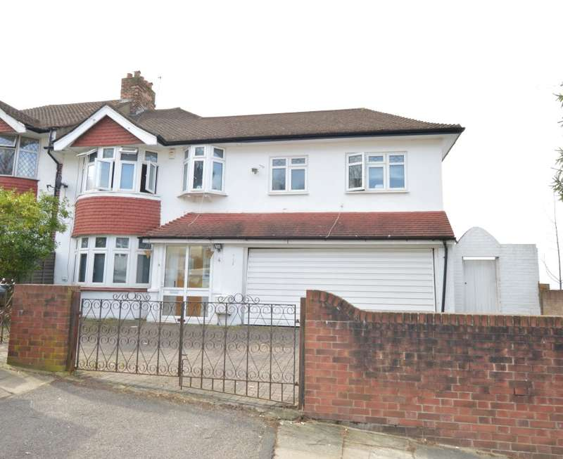 3 Bedrooms Semi Detached House for sale in Ringmore Rise, Honor Oak Park, London, SE23 3DF