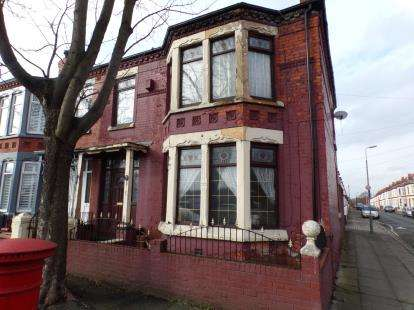 4 Bedrooms End Of Terrace House for sale in Walton Hall Avenue, Walton, Liverpool, Merseyside, L4