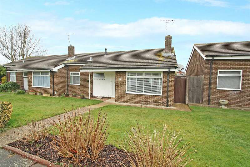 2 Bedrooms Semi Detached Bungalow for sale in The Pallant, Goring By Sea, Worthing, BN12
