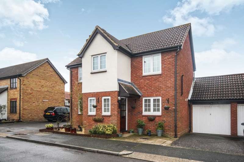 4 Bedrooms Detached House for sale in Cavendish Way, Noak Bridge