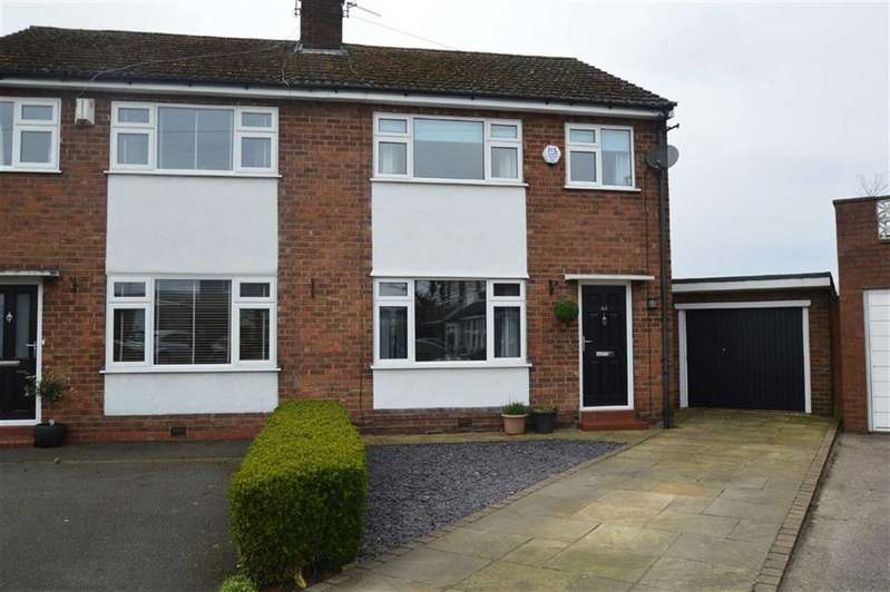 3 Bedrooms Semi Detached House for sale in Minor Avenue, Lyme Green, Macclesfield