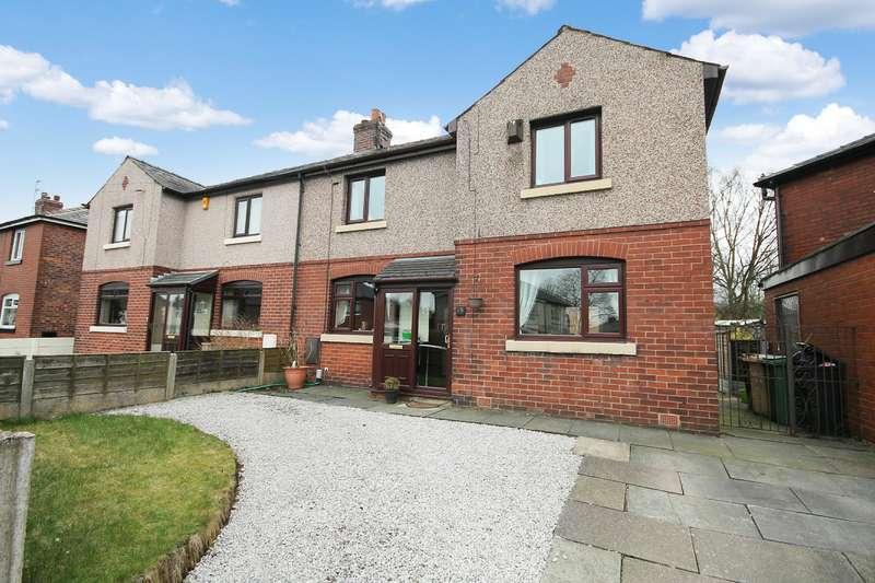 3 Bedrooms Semi Detached House for sale in Laburnum Road, Farnworth, Bolton, BL4 0BG