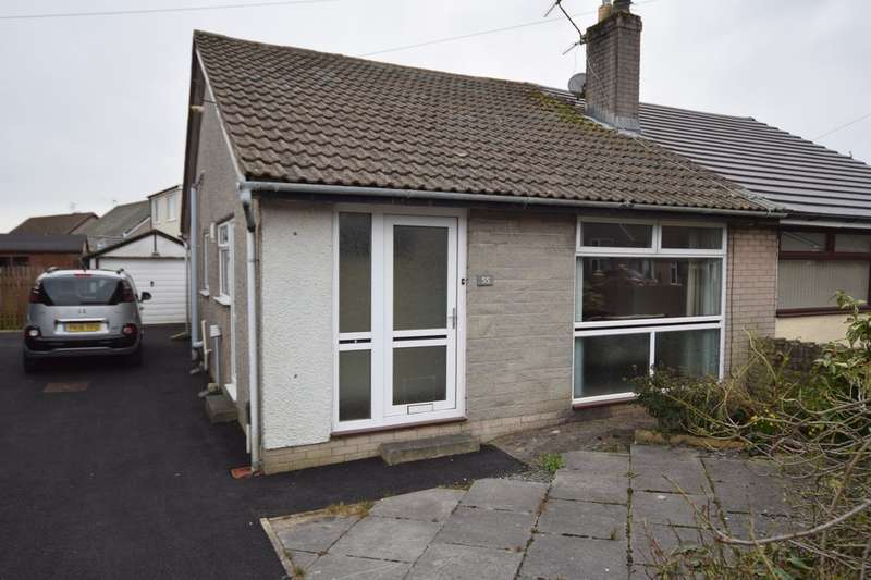 2 Bedrooms Semi Detached Bungalow for sale in Rusland Crescent, Ulverston, Cumbria, LA12 9LZ