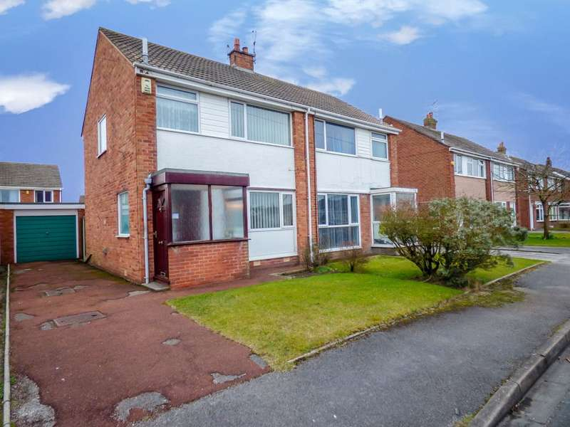 3 Bedrooms Semi Detached House for sale in Epsom Road, Anchorsholme, Thornton-Cleveleys