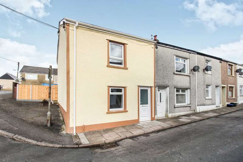 2 Bedrooms End Of Terrace House for sale in King Street, Tredegar, NP22