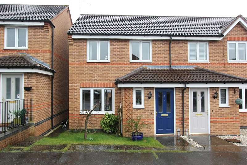 2 Bedrooms Semi Detached House for sale in Harricot Close, St George's Park, Long Leys Road, Lincoln, Lincolnshire, LN1
