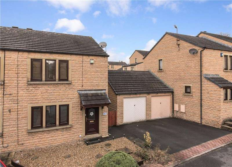 2 Bedrooms Semi Detached House for sale in Hollinwood View, Crossflatts, West Yorkshire