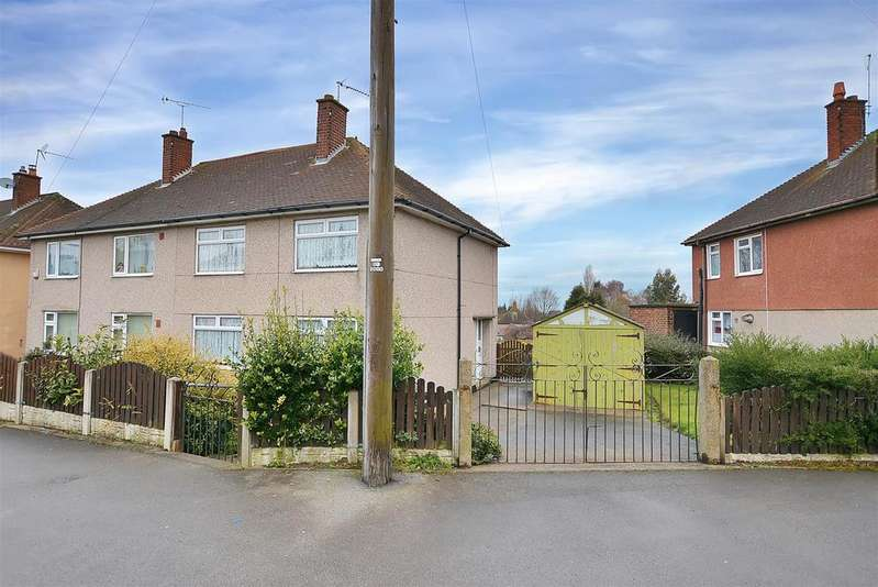 3 Bedrooms Semi Detached House for sale in Brick Kiln Lane, Mansfield