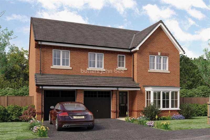 5 Bedrooms Detached House for sale in Moulton, Northwich