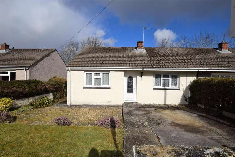 2 Bedrooms Semi Detached Bungalow for sale in Jenkins Close, Merlins bridge, Haverfordwest